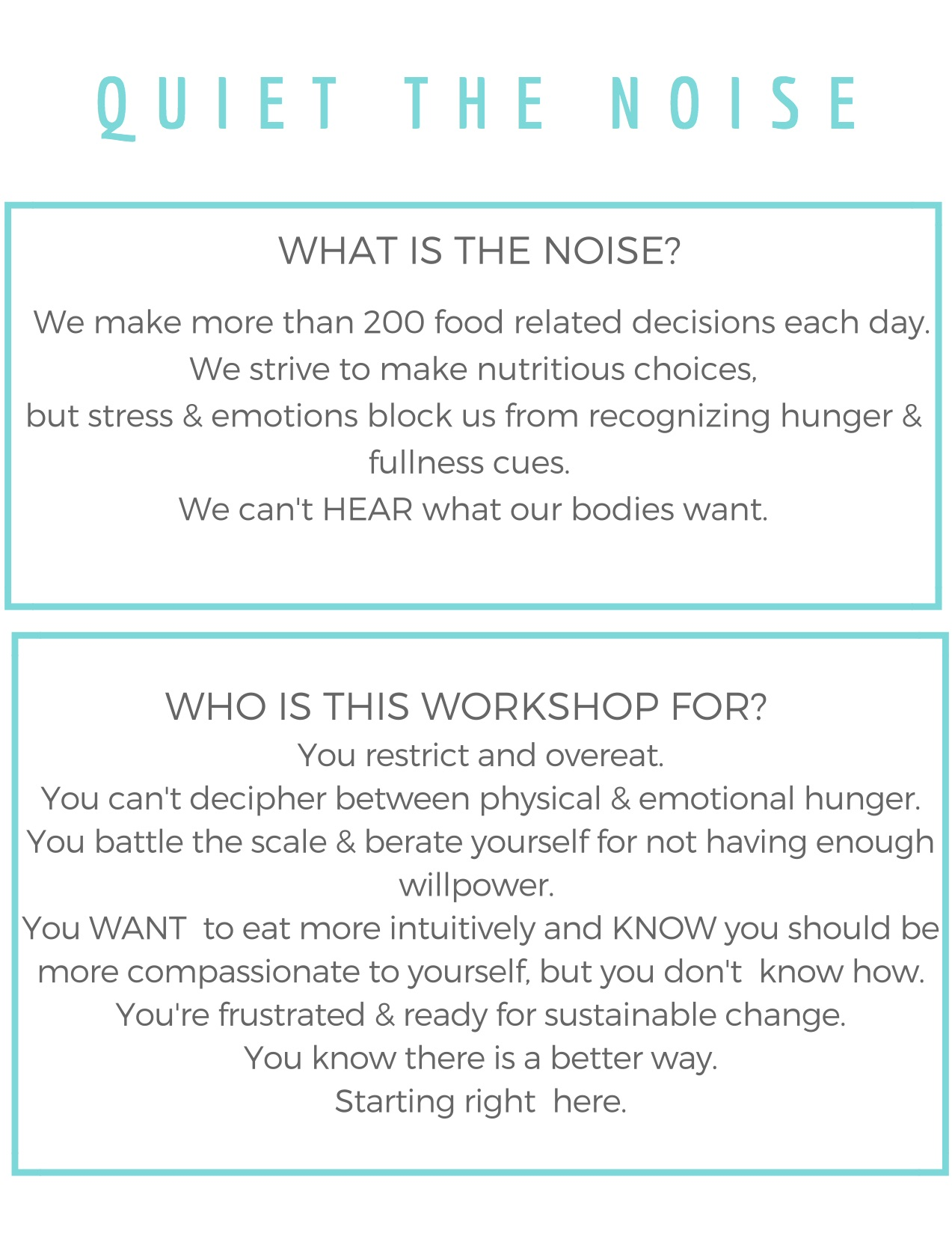 Quiet the Noise with Lisa Hayim and Naomi Arbit - The Well