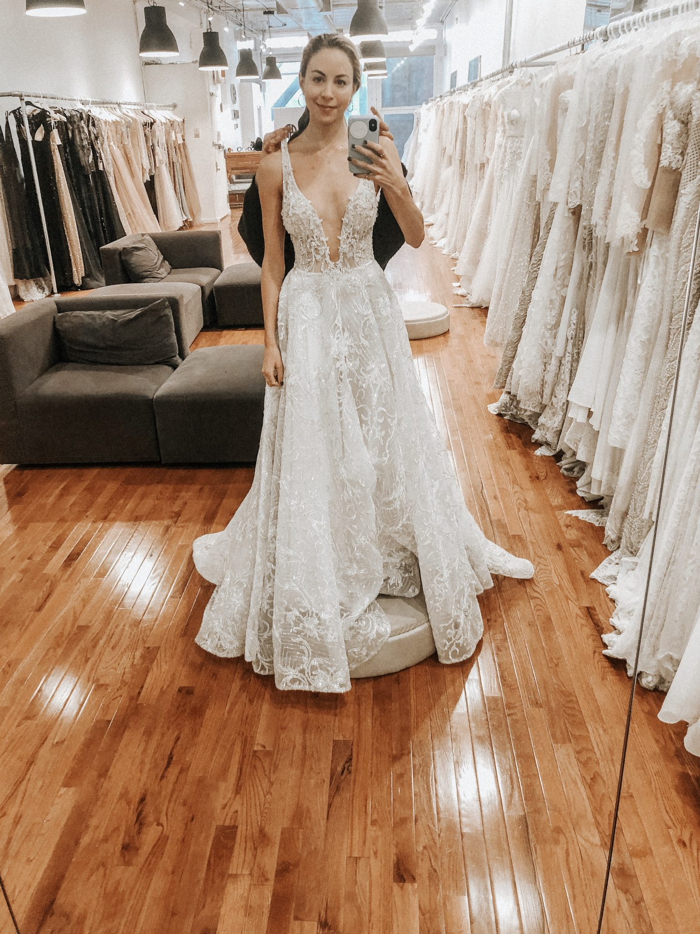 3a62cc09ed Trunk shows means a designer is doing a TOUR and these dresses travel  around the world to different cities. If you buy a trunk show dress